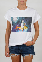 Load image into Gallery viewer, Feeling Nr.5 on White T-Shirt