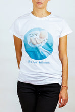 Load image into Gallery viewer, Feeling nr. 019 on White T-shirt