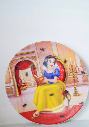 Fairytale goes bad Plate - wall decor