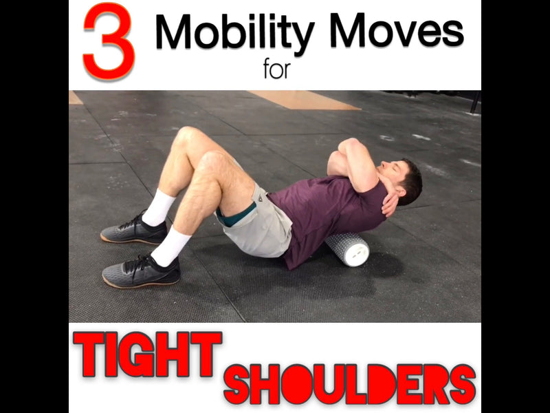 3 Mobility Moves for Tight Shoulders