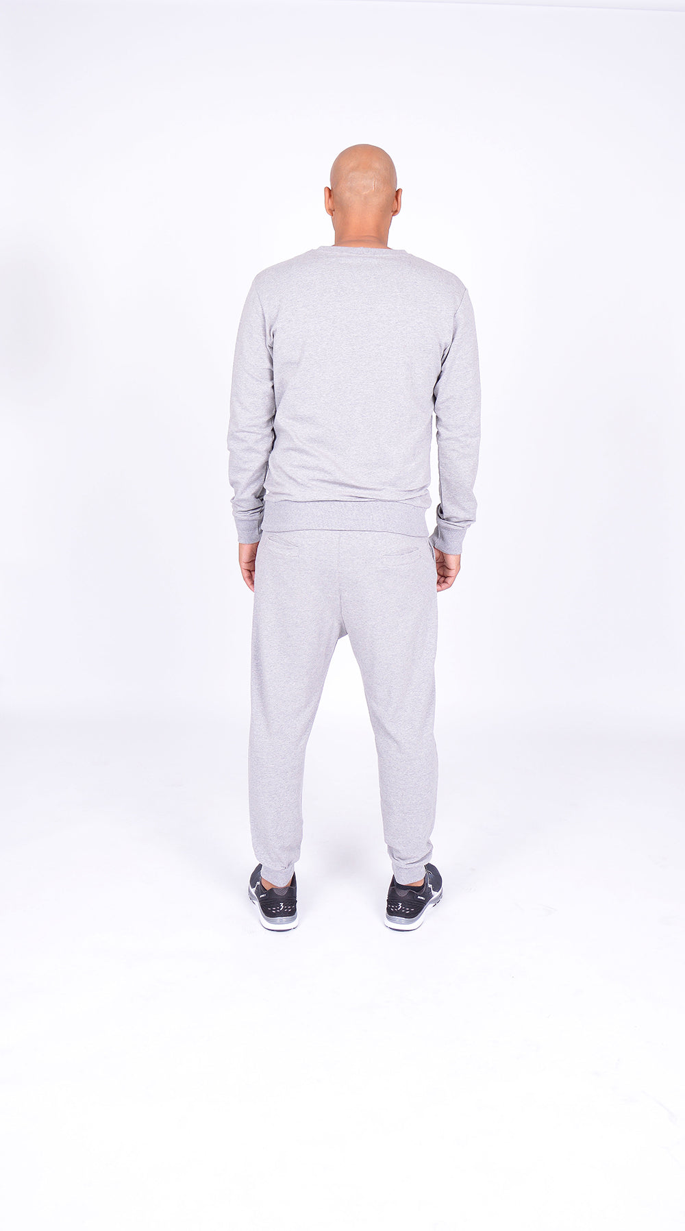 MEN FLEECE PANT GREY M-1833-1