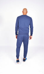 MEN FLEECE PANT NAVY M-1833-1