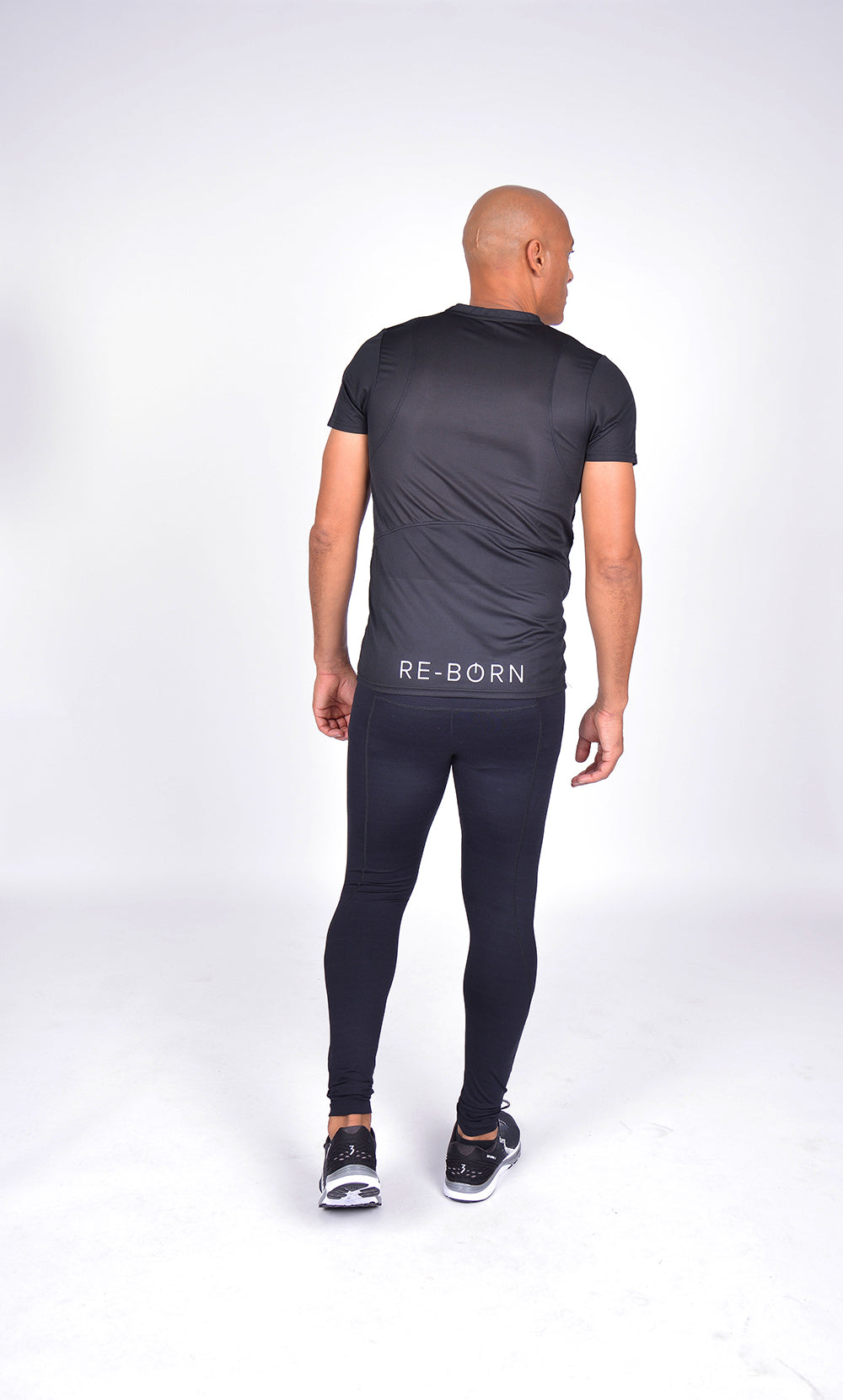 MEN LONG TIGHT BLACK M-1835-1