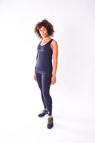 DAMES LANGE TIGHT NAVY O-1835-1
