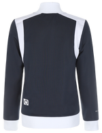 WOMENS TRACKTOP NAVY/WHITE O-2017-1
