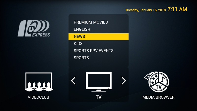 Live TV Subscription