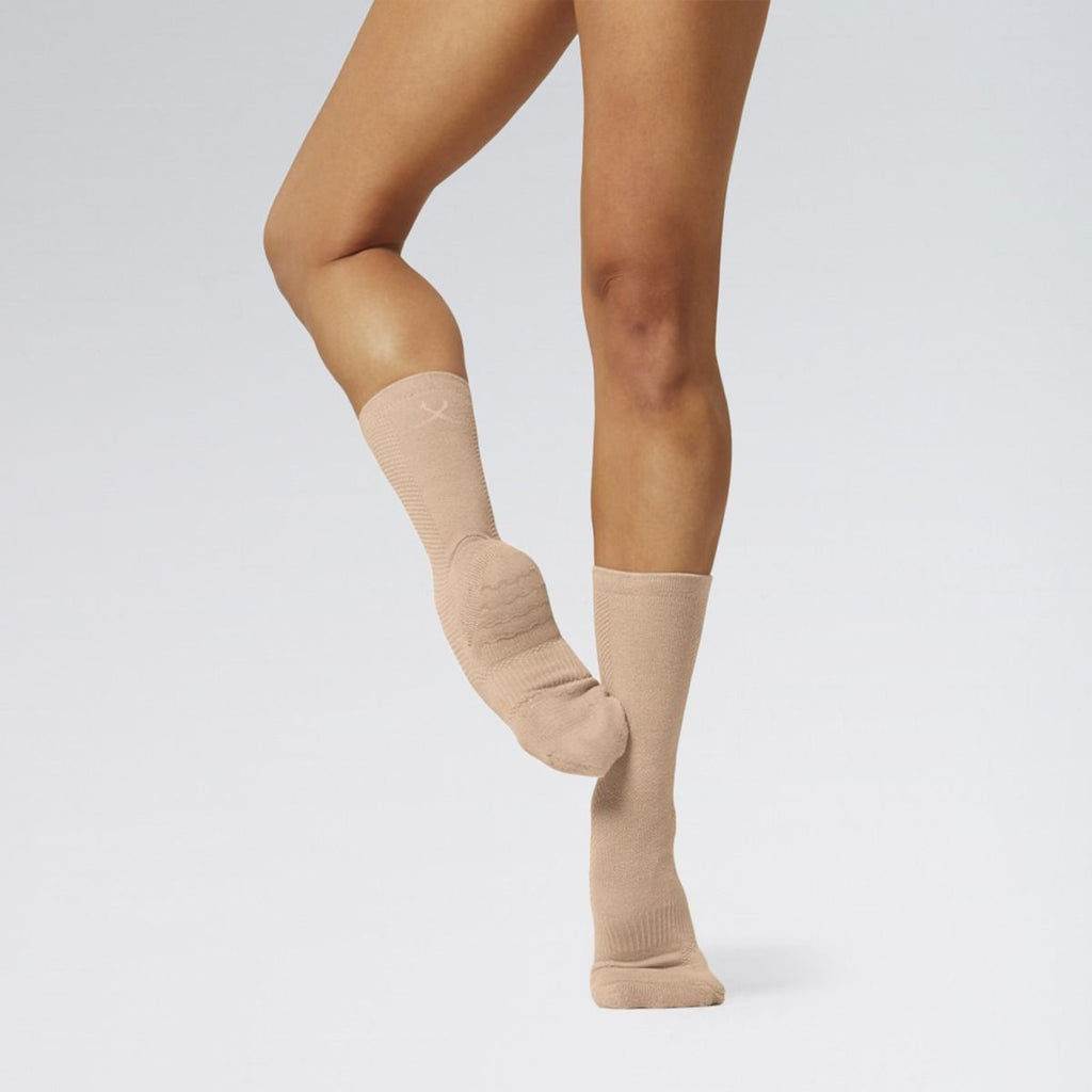 Bloch Pink Jazz Socks