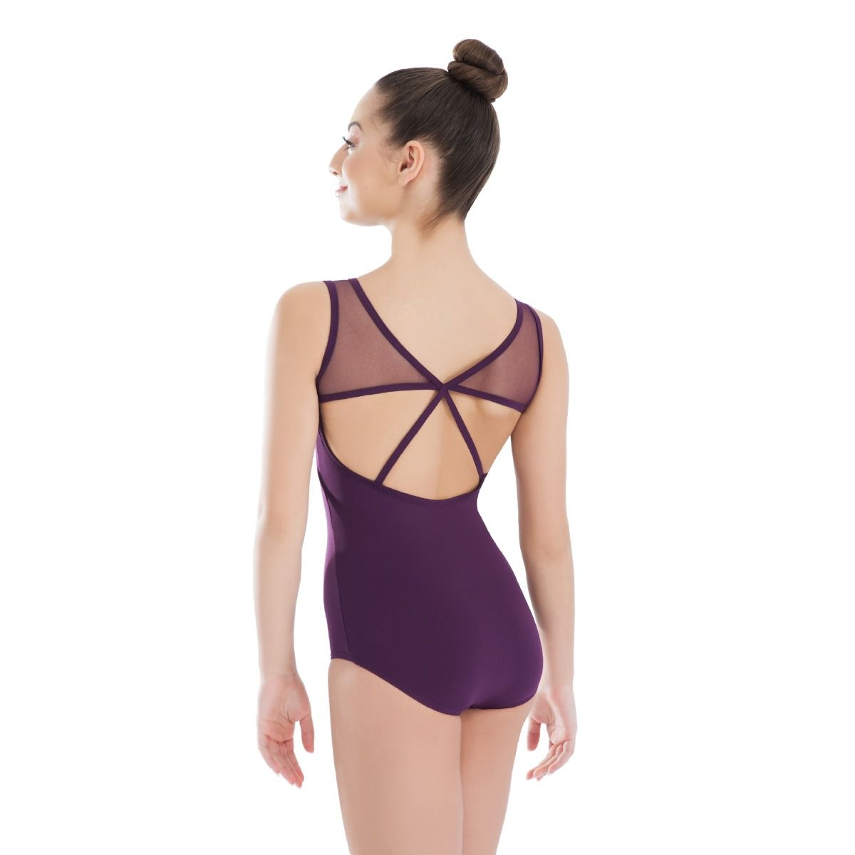 Plum Stage Leotard