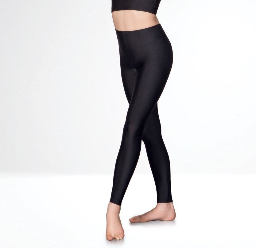 Footless Tights Black (thicker material)