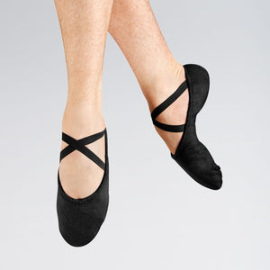 Black Canvas Male Ballet Shoes