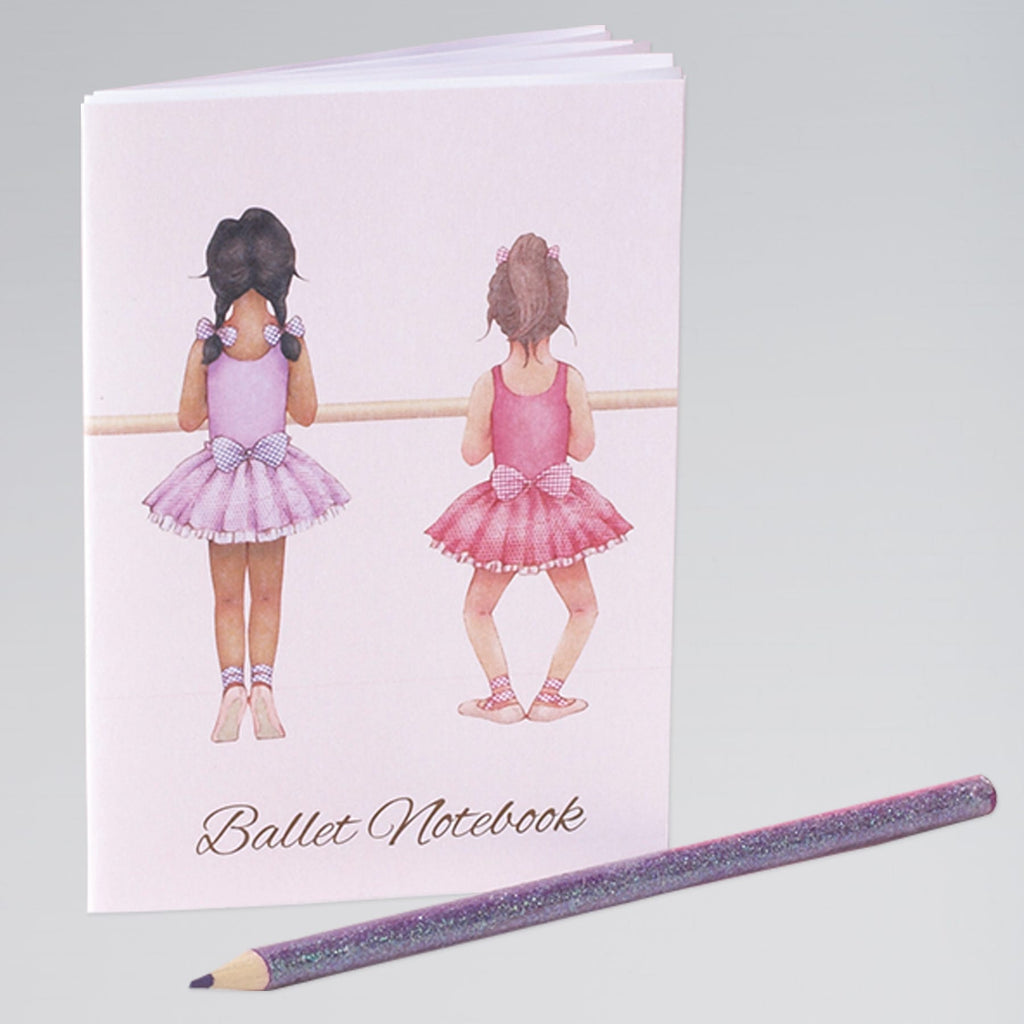 Ballerina Mini Notebook