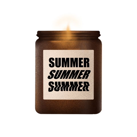 summer soy wax handcrafted candle collection