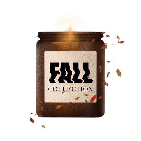 fall autumn handcrafted soy wax candle collection