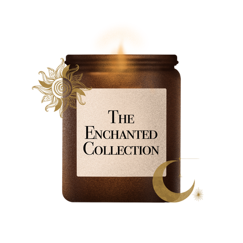 enchanted moon sun starts soy wax soy wax candle handcrafted candle collection