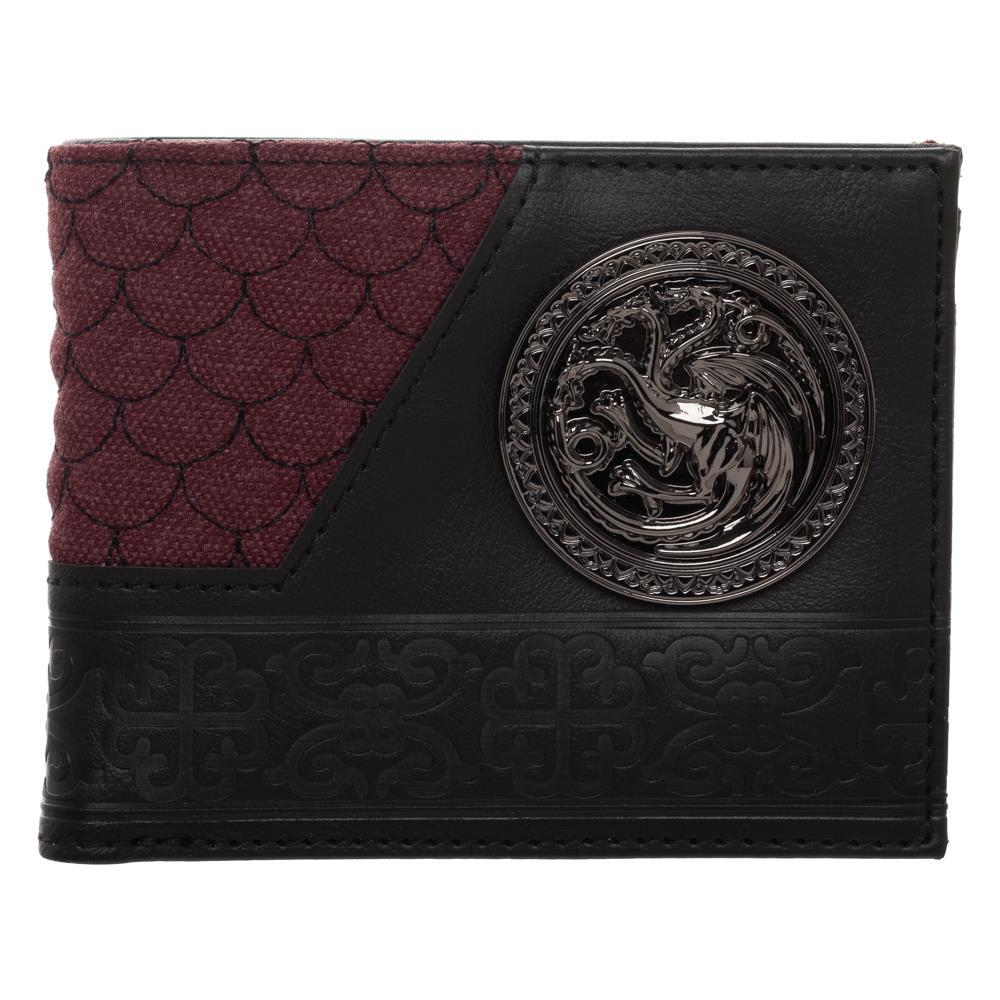 Game Of Thrones House Targaryen Badge Bi-fold Wallet