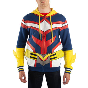 All Might Hoodie My Hero Academia Cosplay My Hero