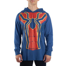 Avengers Infinity War Hoodie Iron Spider-Man Cosplay Spiderman Gift - Iron Spider Hoodie Spiderman Hoodie