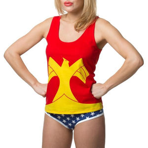 Dc Comics Wonder Woman Women's Underoos