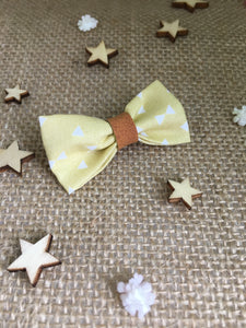 Barrette petits triangles