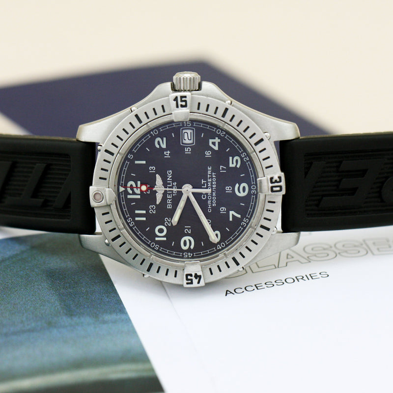 Breitling Colt Grey Dial - Subdial