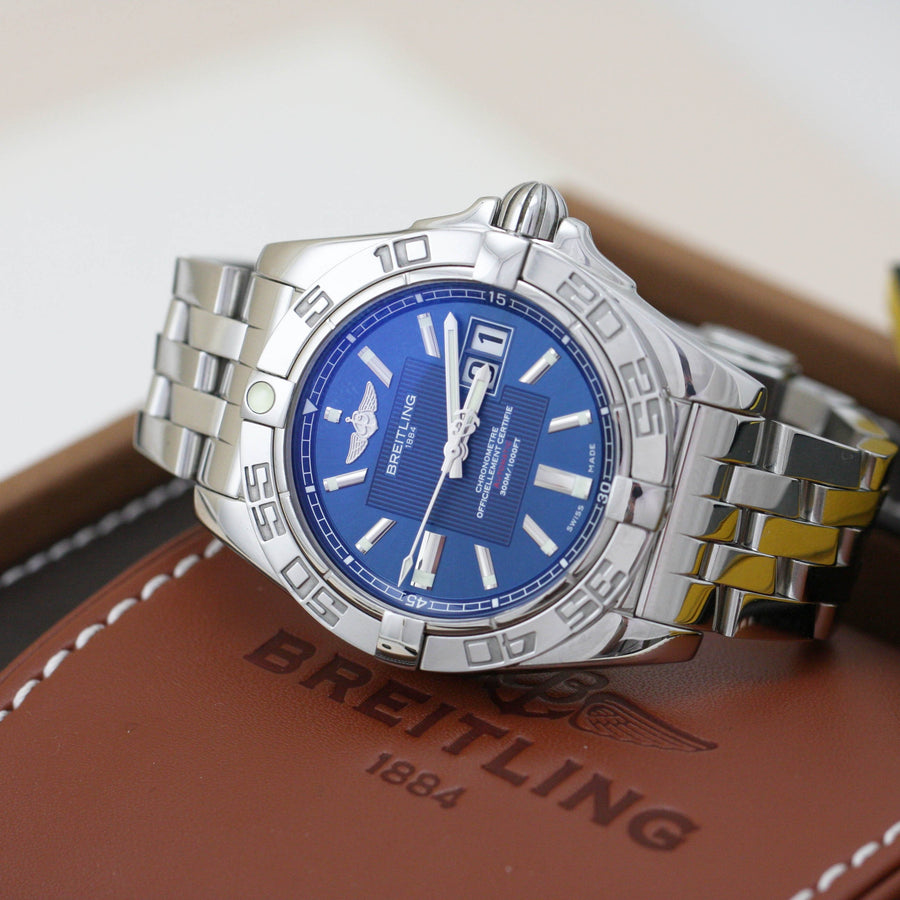 Breitling Galactic 41 Big Date - Subdial