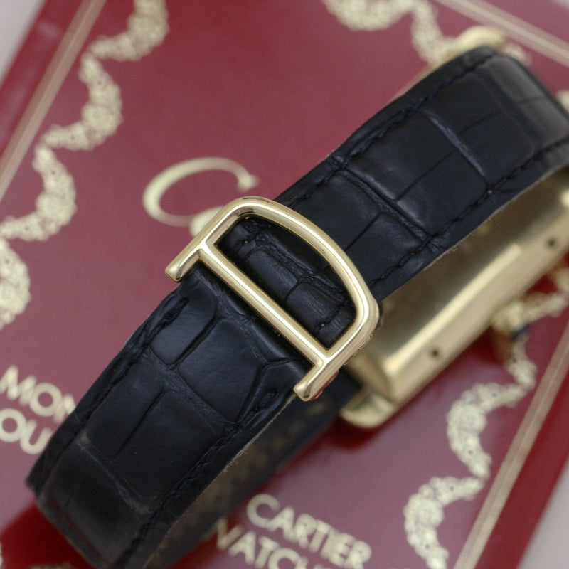 Cartier Gents Tank Americaine - Subdial
