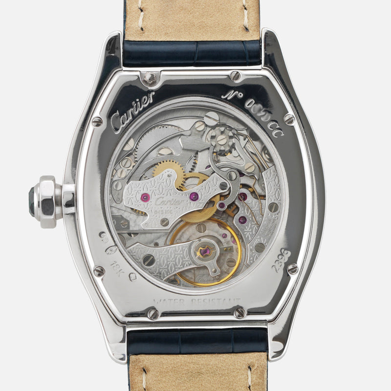 Watch - Cartier Tortue Monopoussoir 2396