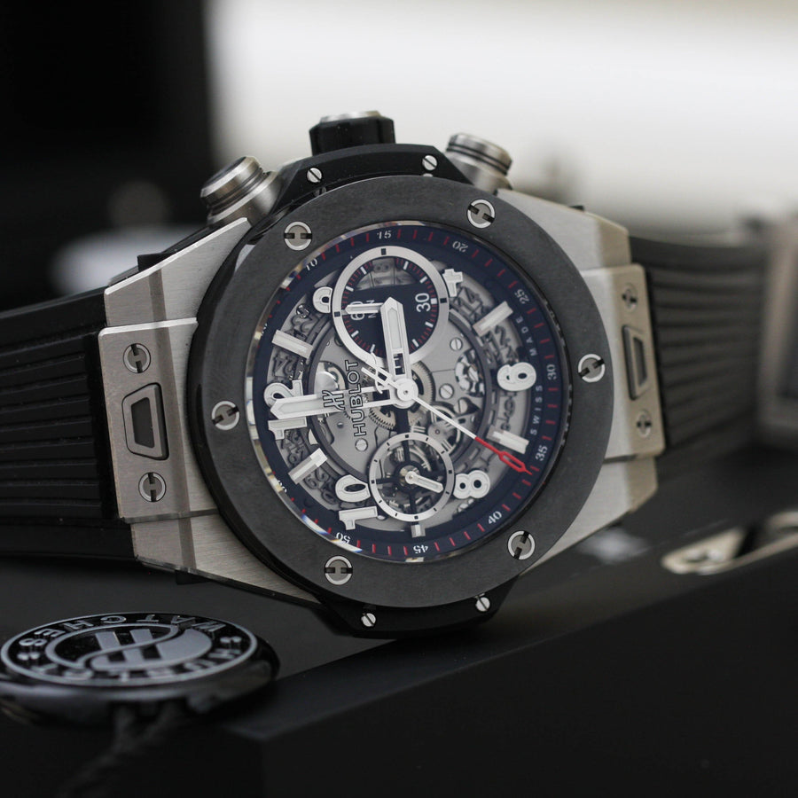 Hublot Big Bang Unico Ceramic & Titanium - Subdial