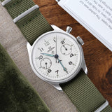 Watch - Lemania Military Chronograph H.S.9