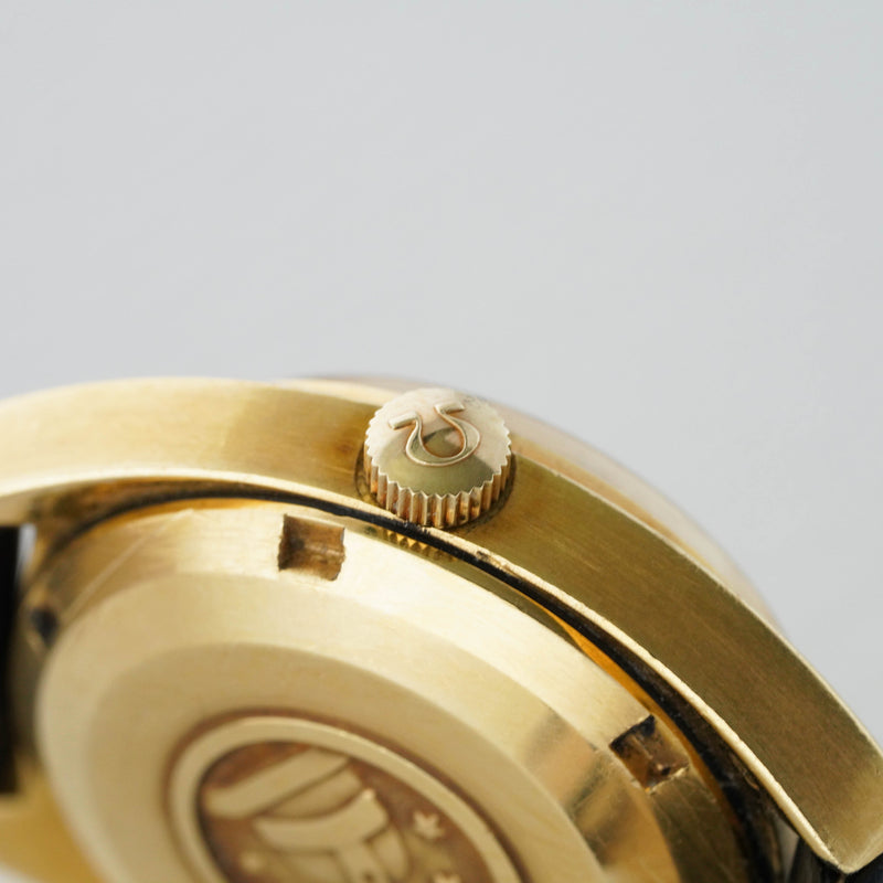 Omega Constellation 18k Gold Mini - Subdial