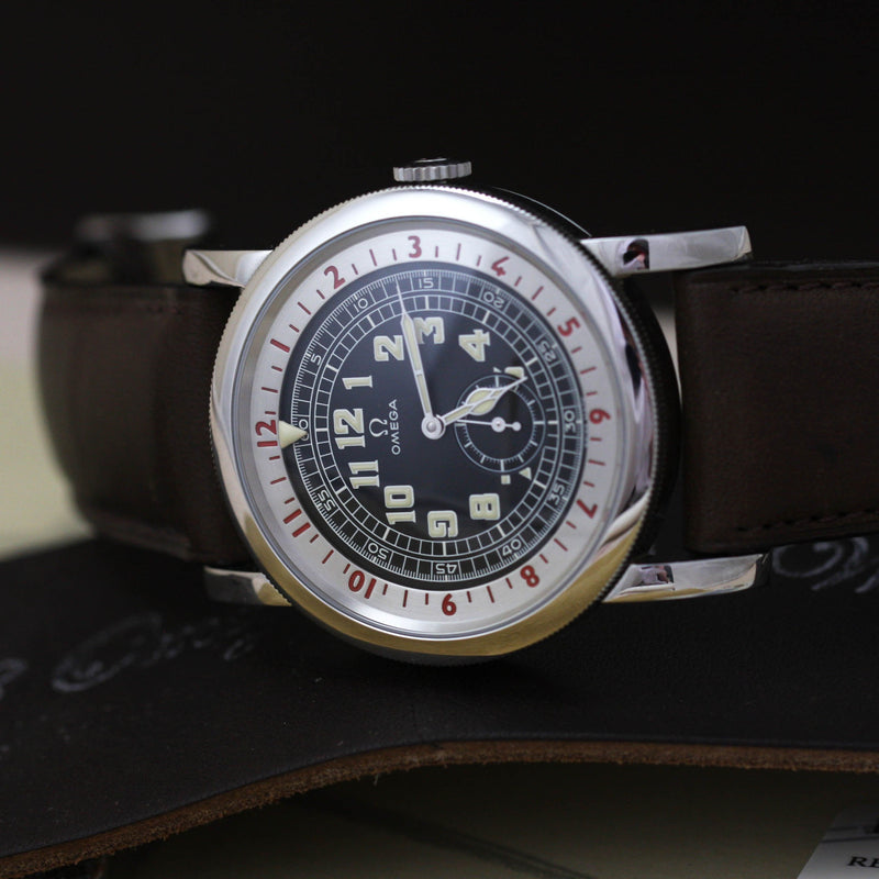Omega Pilots Watch 1938 Museum Collection - Subdial