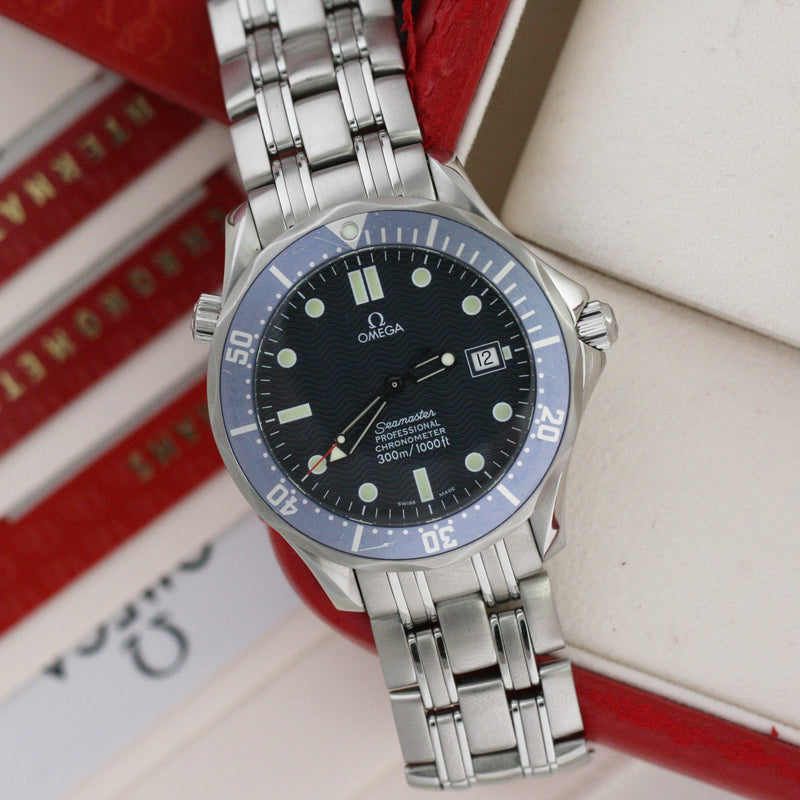 Omega Seamaster Diver 300 M Blue - Subdial