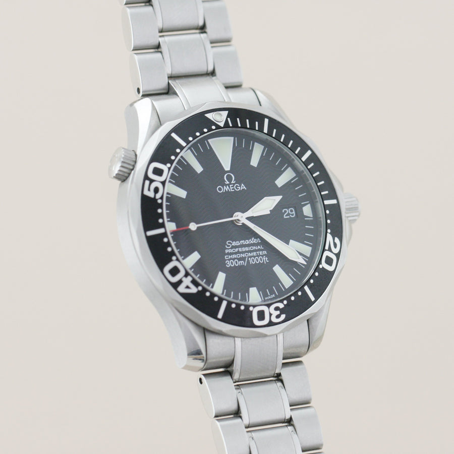 Watch - Omega Seamaster Diver 300M Black Dial