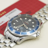 Omega Seamaster Diver 300m Blue Wavy 2220.80.00 - Subdial