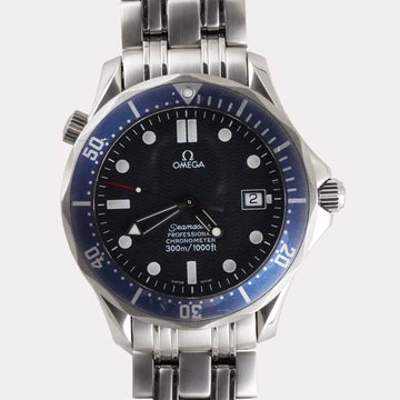 Omega Seamaster Diver 300m Blue Wavy 2531.80.00, 2007 - Subdial
