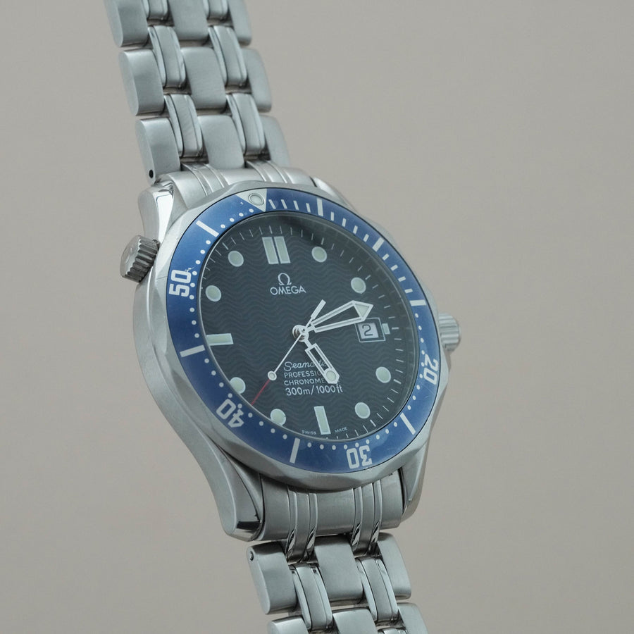 Watch - Omega Seamaster Diver 300m Blue Wavy 2531.80.00, 2007