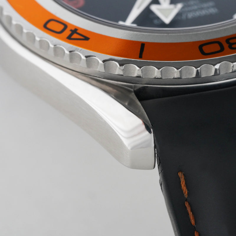 Omega Seamaster Planet Ocean Orange - Subdial