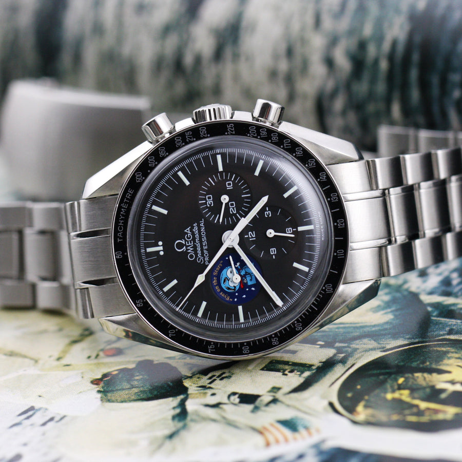 Omega Speedmaster Professional Moonwatch Snoopy - Subdial