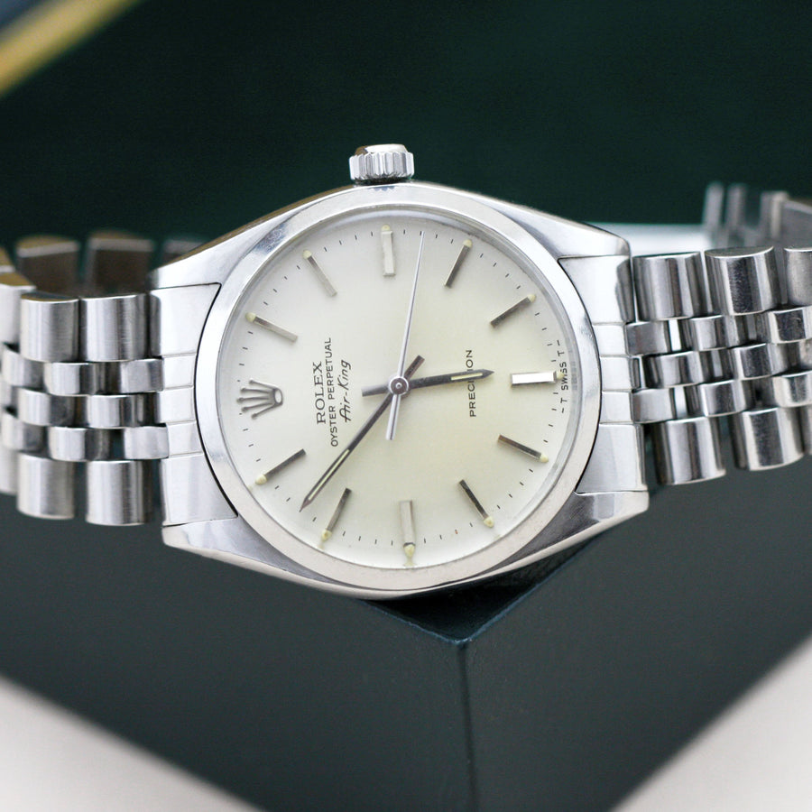 Rolex Air King Precision 5500 - Subdial