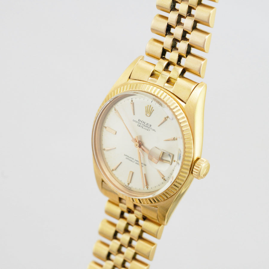 Rolex Datejust 1601 Rose Gold - Subdial
