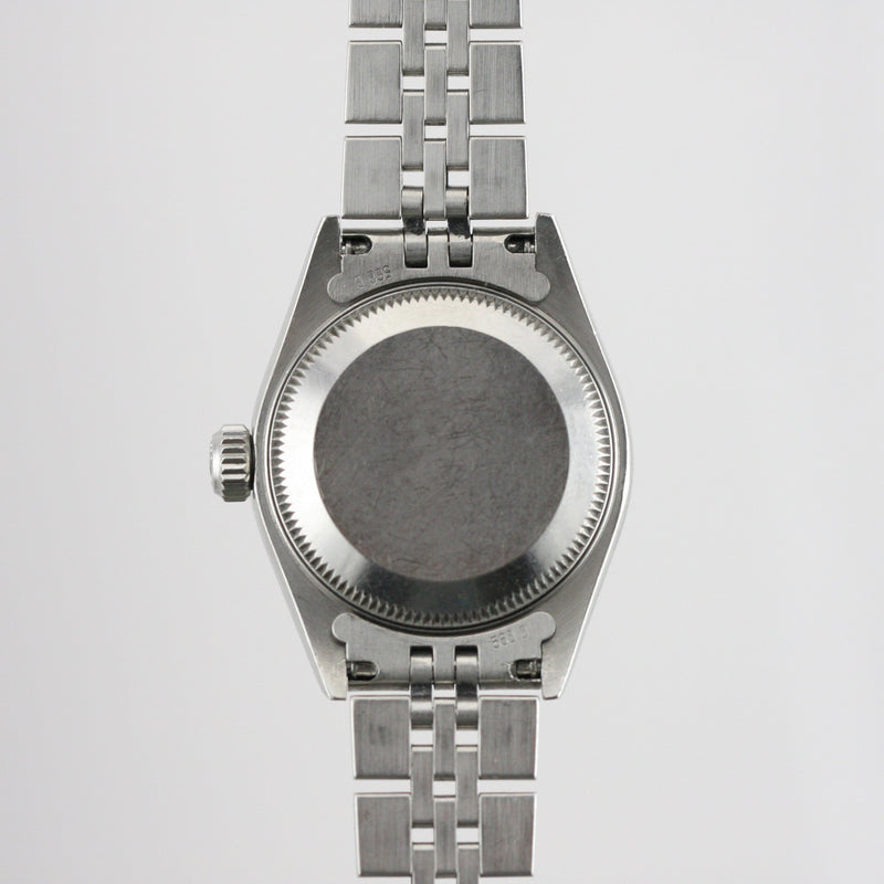 Rolex Datejust with Diamond Bezel - Subdial