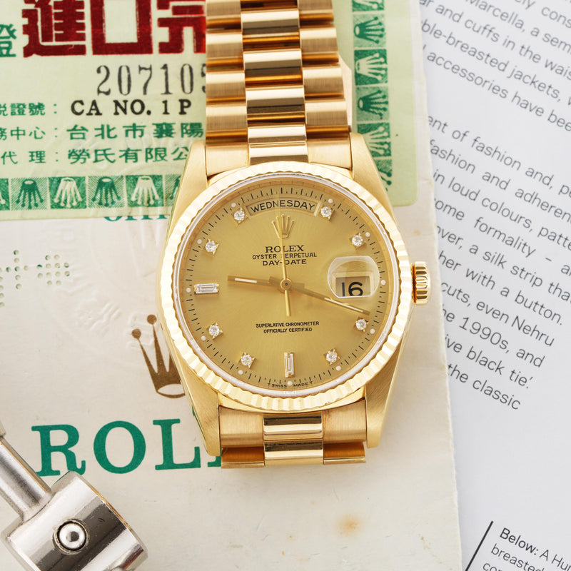 Rolex Day-Date Double Quick Set - Subdial