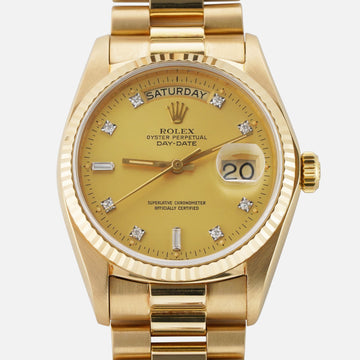 Rolex Day-Date Gold - Subdial