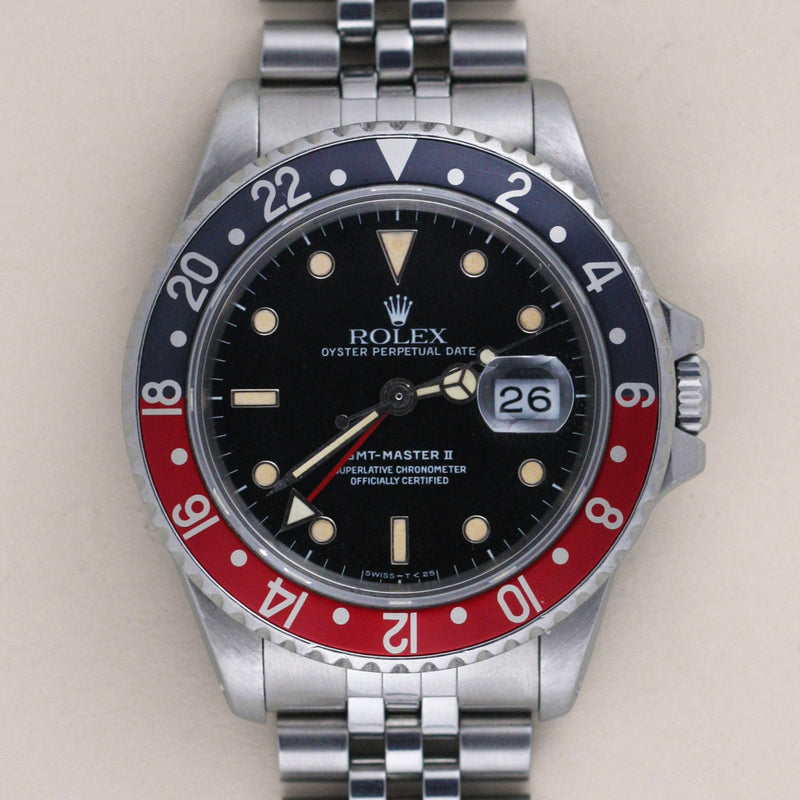 Rolex GMT-Master Fat Lady 16760, Starburst Dial - Subdial