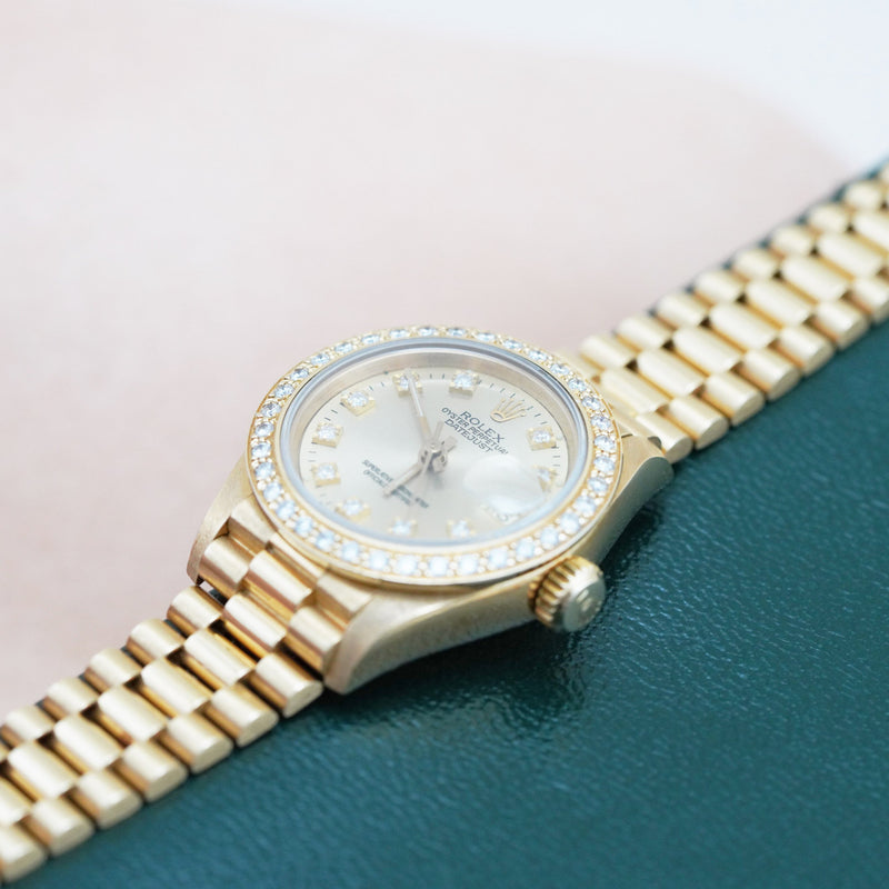 Rolex Ladies DateJust Perpetual 69178 - Subdial
