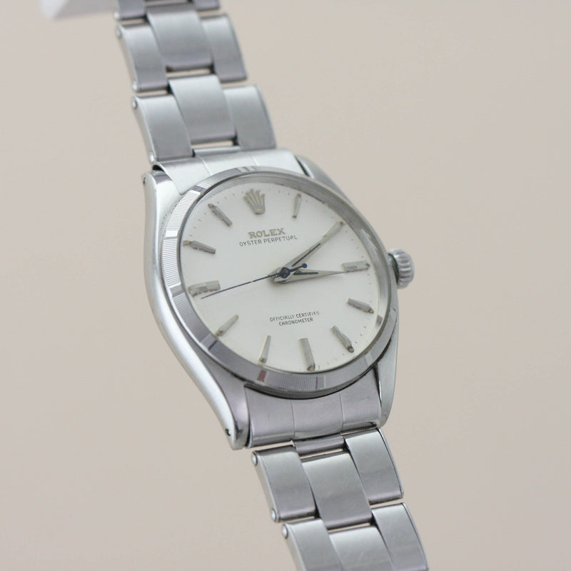 Rolex Oyster Perpetual 6565 Machine Turned Bezel - Subdial