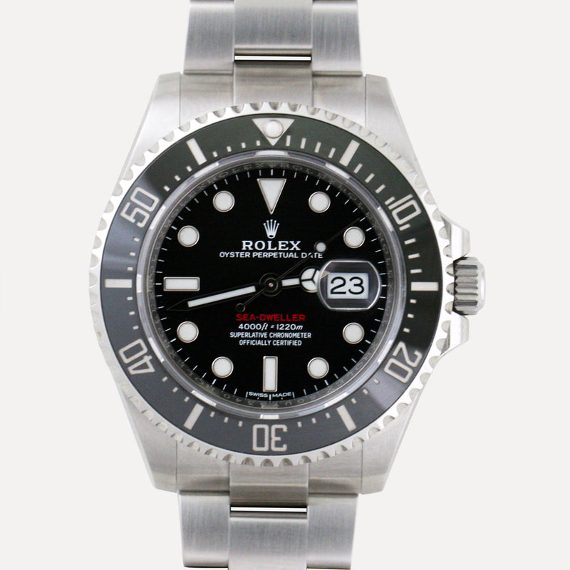 Rolex Sea-Dweller 50th Anniversary 126600 - Subdial