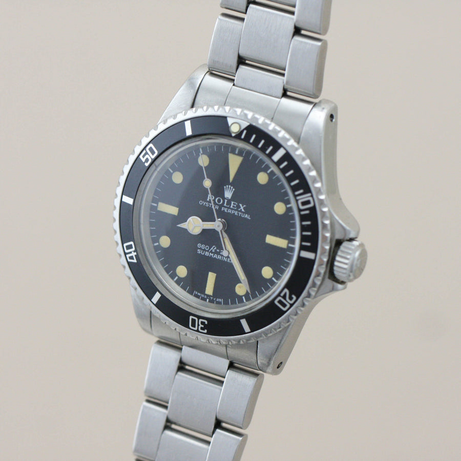 Rolex Submariner 5513, 1973 - Subdial