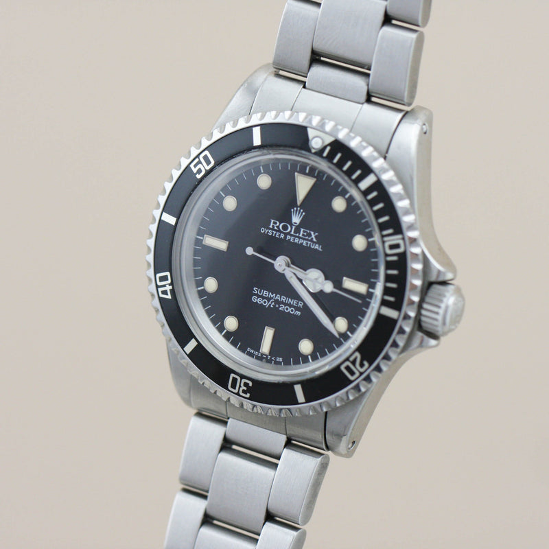 Rolex Submariner 5513, 1986 - Subdial
