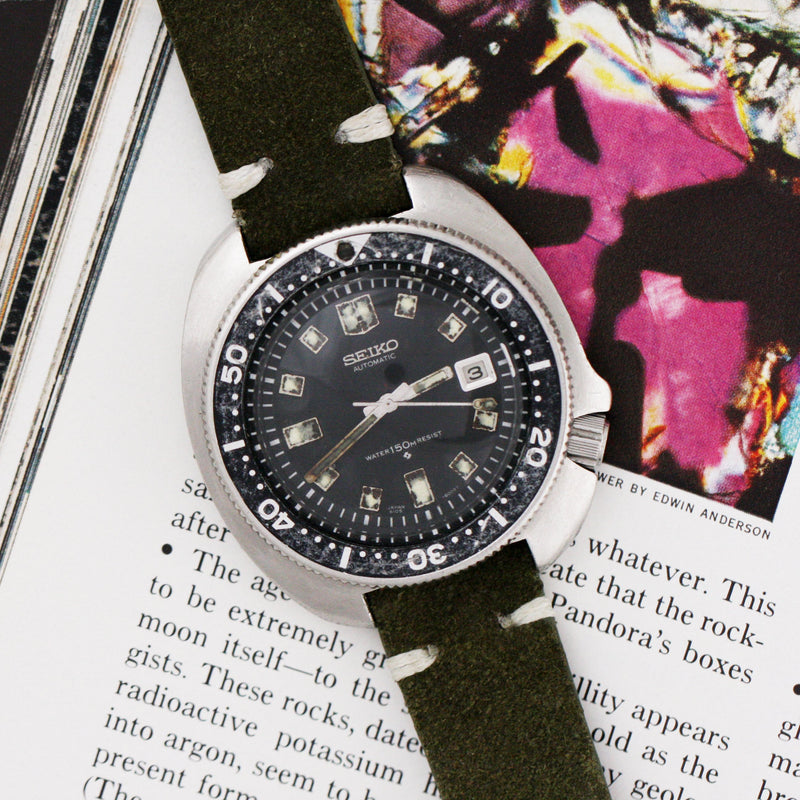 Seiko The Turtle, Captain Willard 1972 - Subdial